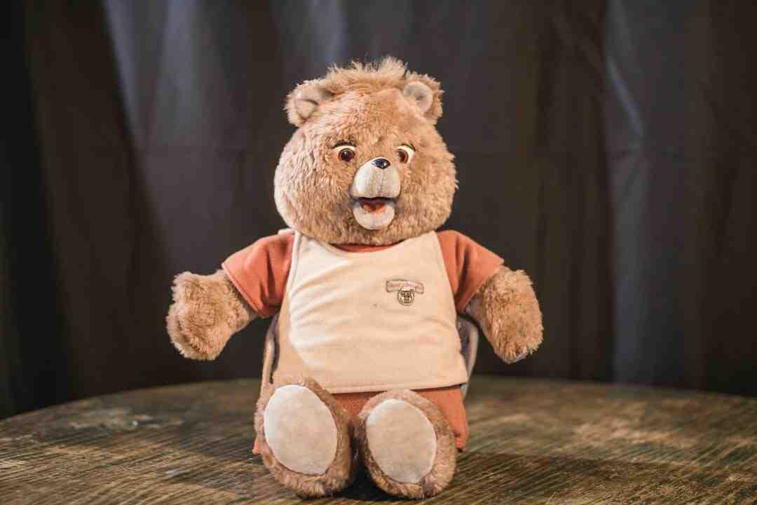 How do you make a sock teddy bear?